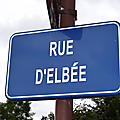 Les Herbiers (85), rue d'Elbée