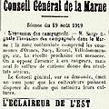 1919 20 août :invasion de campagnols