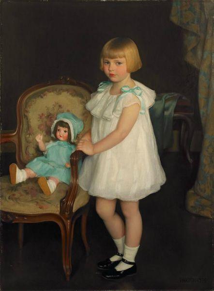 Mcgregor-paxton-william portrait-of-eleanor-anne-schrafft-1926-1