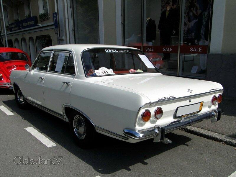 opel rekord b automatic l berline 1965 b