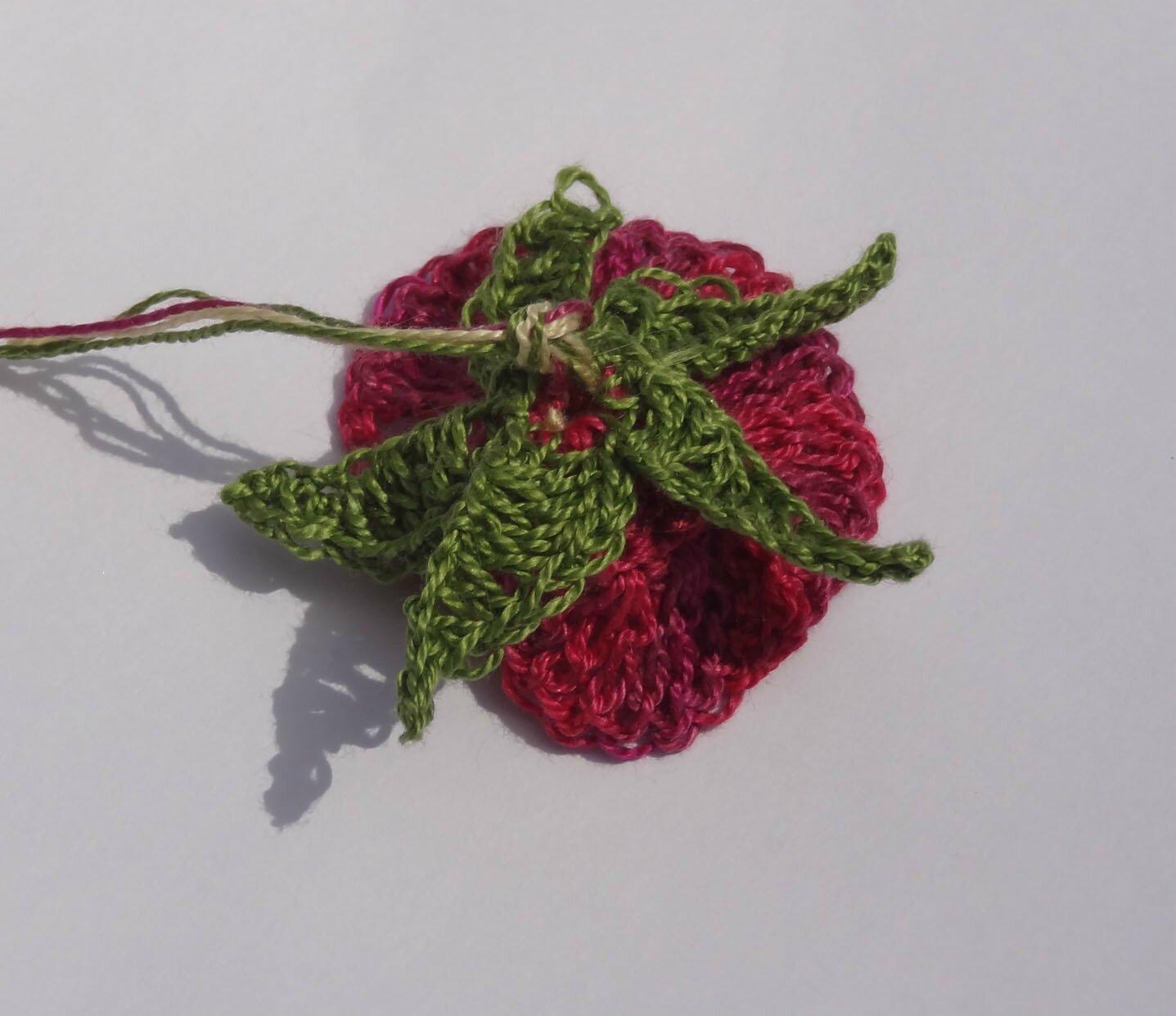 Petites FLEURS crochetees (2)