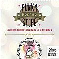 Au funky pop'up store...