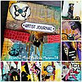 Atelier mixed media art journal