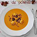 Soupe de potimarron {pour apprécier encore plus les couleurs de l'automne}