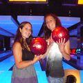 Bowling... Caro a gagne! Et Vinciane a fini 3eme sur 6!