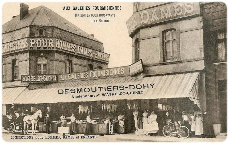FOURMIES-Aux Galeries Fourmisiennes