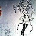 Petits dessins au crayon à papier
