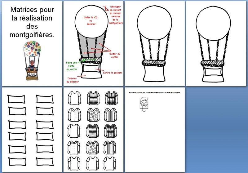 169_Outils pour la classe_Les montgolfières (montgolfières avec CD)