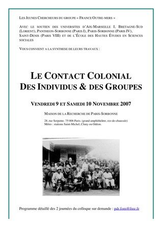 Affiche_du_colloque_Le_Contact_Colonial__Paris_Sorbonne__9_et_10_novembre_2007_version_corrige_e