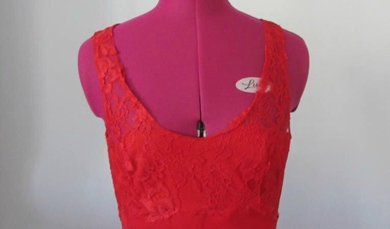 Robe flamenco rouge 4