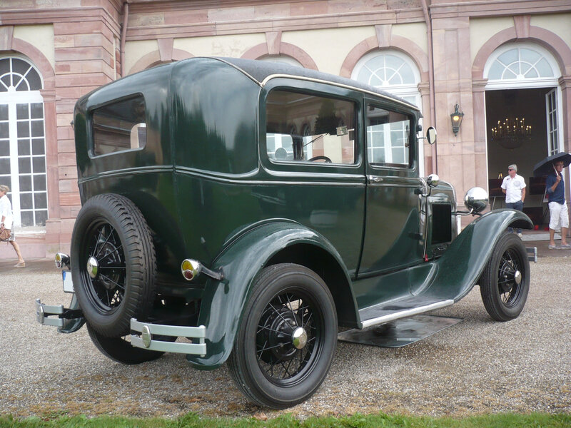 FORD Model A Tudor Sedan 1929 Schwetzingen (2)