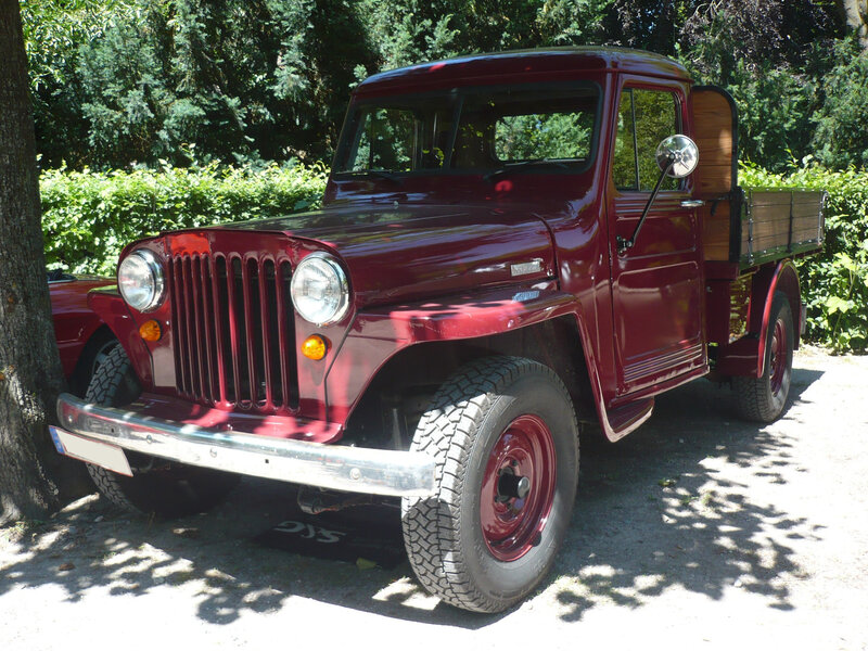 WILLYS Jeep Truck 2door pick-up Karlsruhe (1)