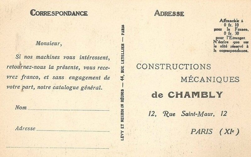 Usine machines pour chaussures Chambly.