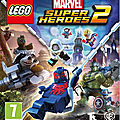 Test de lego : marvel super heroes 2 - jeu video giga france