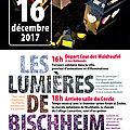 Parcours solidaire les lumières de bischheim