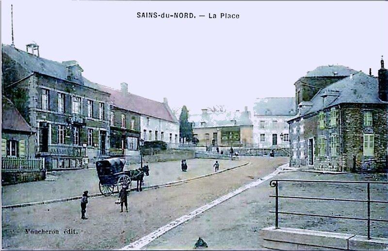 SAINS DU NORD-La Place