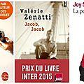 Sélection de livres poches spécial romancières françaises ..et singulières!!