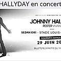 Johnny, nouvelle date de concert 2016.