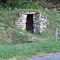 Une petite cabane.....