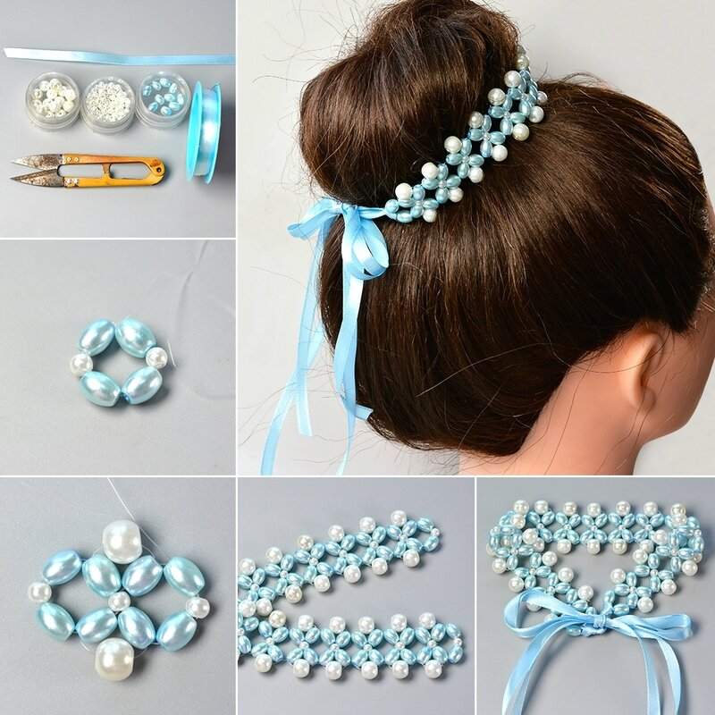 1080-How-to-Make-Fresh-Beaded-Hair-Accessory-with-Satin-Ribbon-and-Pearl-Beads