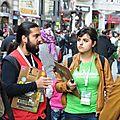 Dans la rue a istanbul
