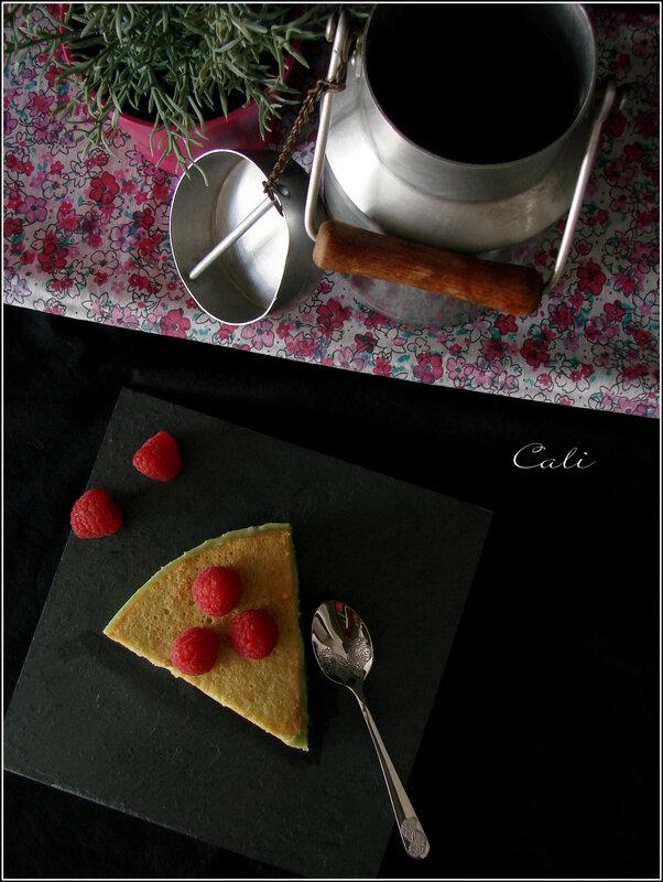 Gâteau Magique à la Pistache 001