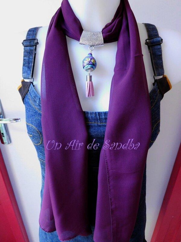 Bijou de foulard Prunus (3)
