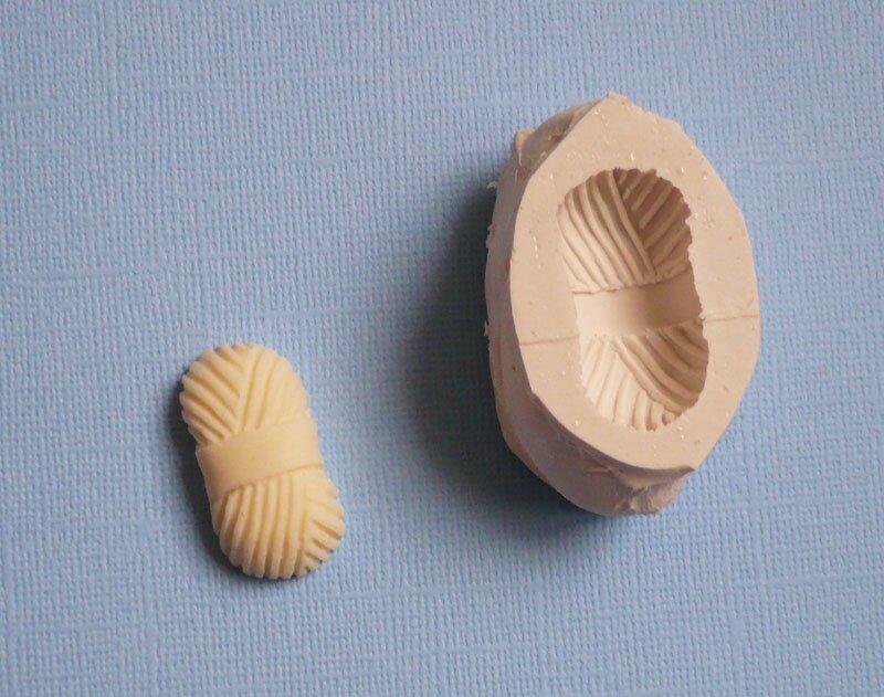 moule en silicone pelote de laine