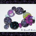 Bracelet pétales de fleurs (3)