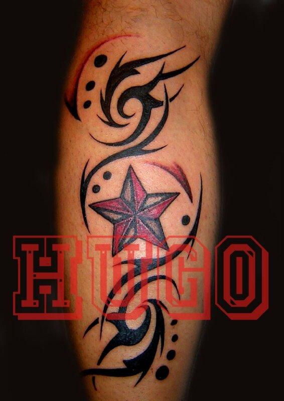 etoile - photo de photos tatouages - hugo tattoo