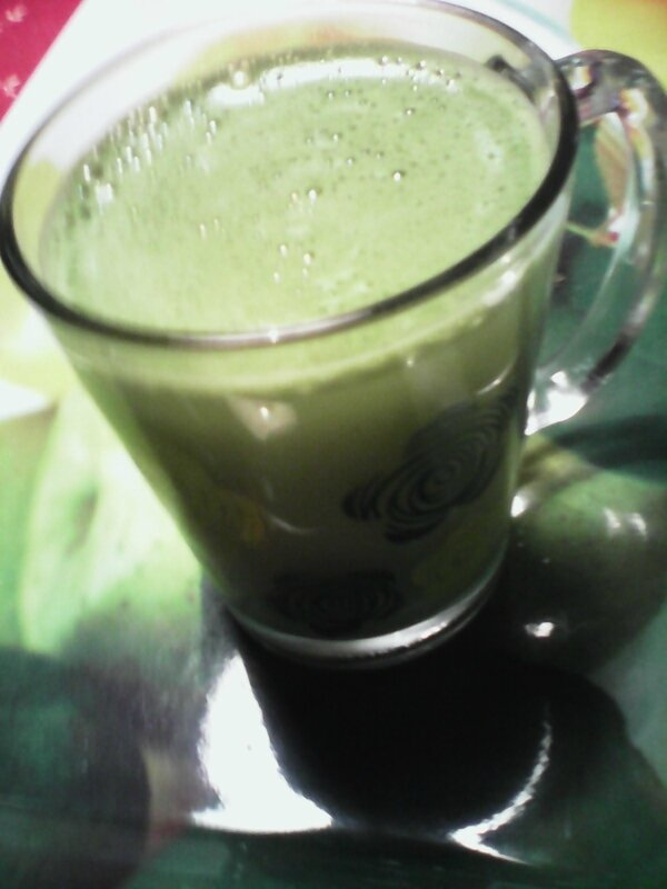 the matcha au lait