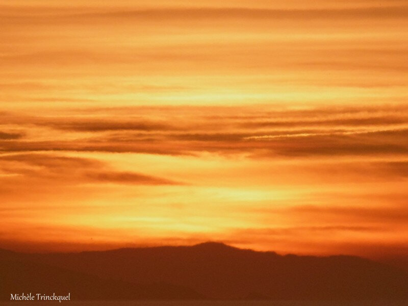 1-Baie de Txingudi et Coucher soleil Bidart 170219
