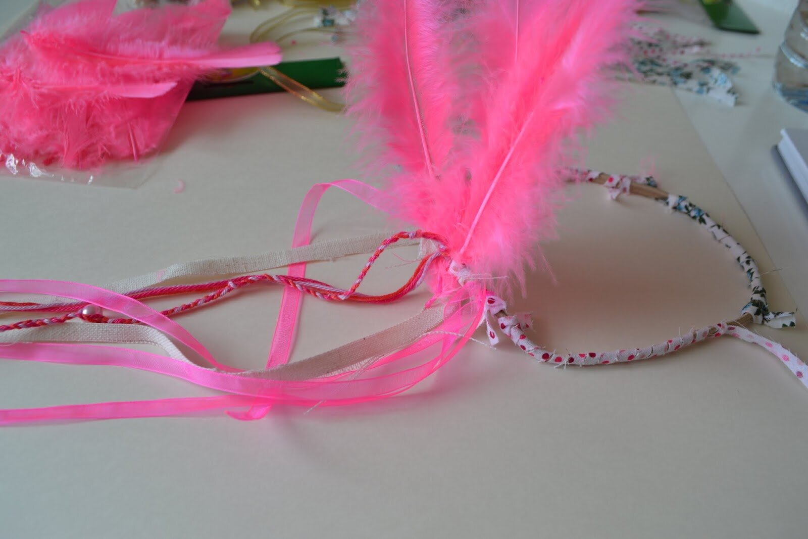 DIY headband indienne girly #Jeudicreation