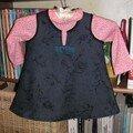 Une robe chasuble pour Porcinette
