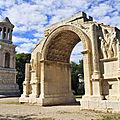 Les alpilles : voyage au temps des romains