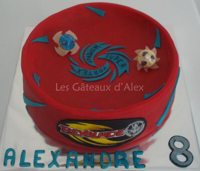 Gâteau stadium Beyblade #2
