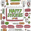 Happy stickers !