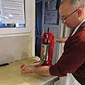 Atelier saucisses avec jean michel