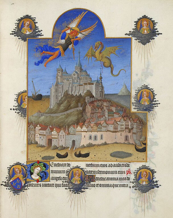 Folio195r-Saint-Michael-Mass