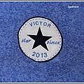 serviette eponge victor