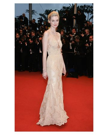 Elizabeth Debicki in Tiffany diamond bracelets and earrings at the premiere of The Great Gatsby, the Cannes Film Festival, May 15, 2013