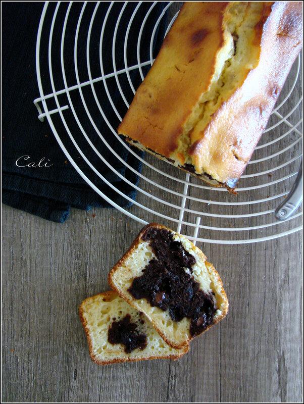 Cake Marbré Citron-Chocolat 002