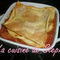 Lasagne thon mozzarella