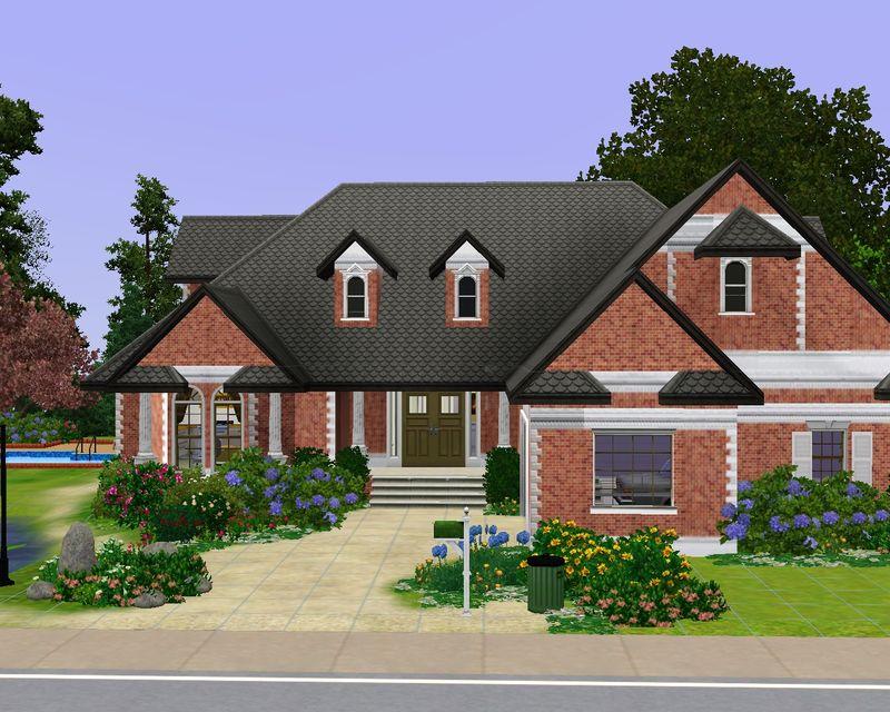 bienvenue maisons deco sims2. Black Bedroom Furniture Sets. Home Design Ideas