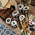 Nouvel arrivage de tapis tissés en suède à partir de bouteilles recyclées: brita sweden, du style sous vos pieds !