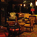 inside the algonquin hotel