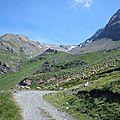 Alpe d'huez (1) mine de l'herpie, combe de la charbonnière et retour par le lac blanc