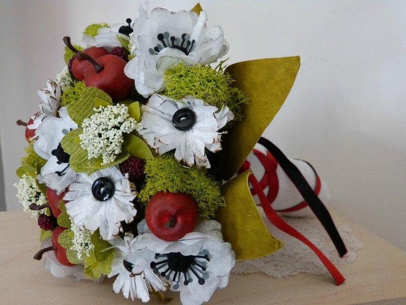 Bouquet Blanche neige (2)