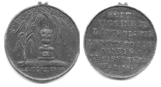Medaille 1839