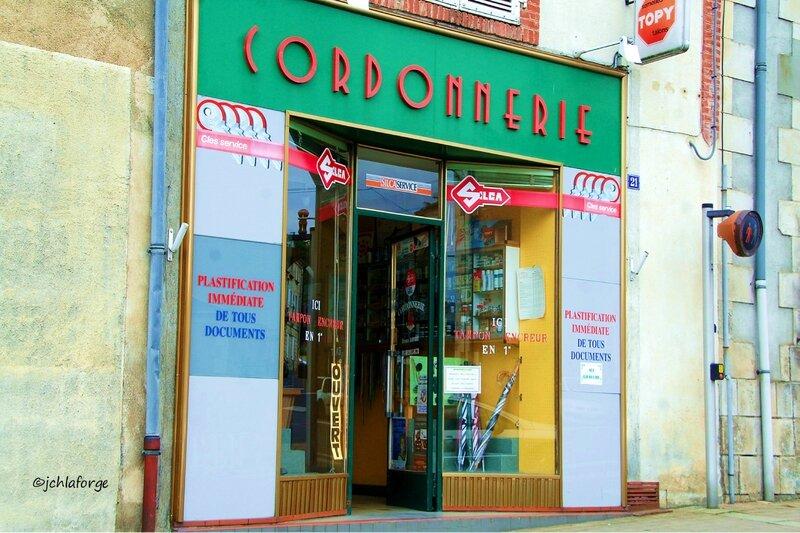 Cordonnerie Montmorillon Juin 2012